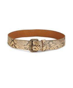 Ralph Lauren Collection | Snakeskin Leather Belt