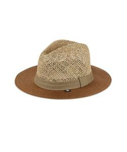 Block Headwear | Open Weave Braided Straw Sun Hat