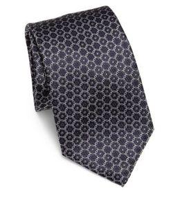 Corneliani | Geometric Silk Tie
