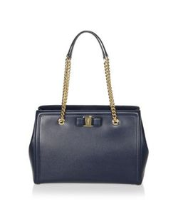 Salvatore Ferragamo | Vara Score Melike Leather Tote