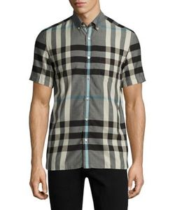 Burberry | Moore Plaid Cotton Shirt
