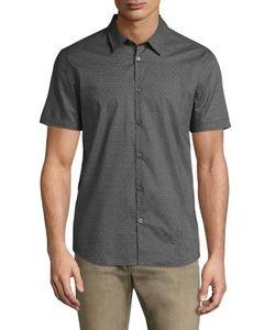 John Varvatos   Short Sleeve Cotton Shirt