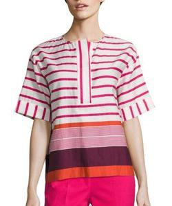Piazza Sempione | Striped Cotton Top