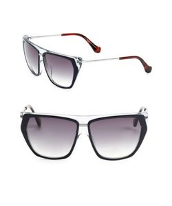 Balenciaga | 58mm Square Sunglasses