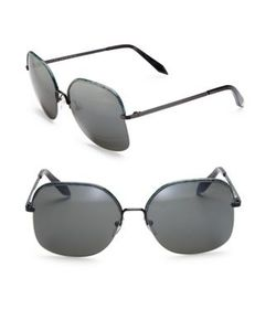 Victoria Beckham | Windsor 60mm Square Sunglasses