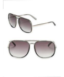 Chloe | 60mm Oversize Square Sunglasses