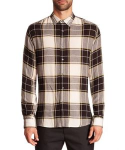 Public School | Plaid Wool Blend Shirt