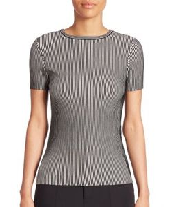 Opening Ceremony | Short Sleeve Striped Top
