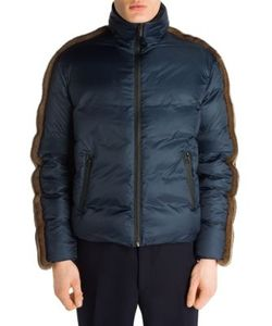 Fendi | Mink Fur Nylon Puffer Coat