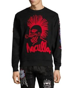 Haculla | Back Print Cotton Sweatshirt