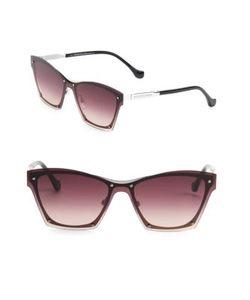 Balenciaga | Futuristic Square Sunglasses