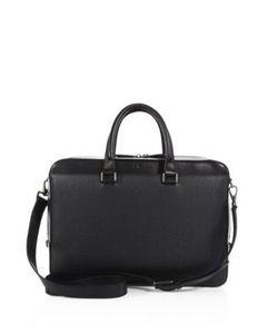 Salvatore Ferragamo | Revival Leather Laptop Case