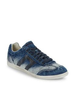 Diesel | Happy Hours Vintagy Lounge Denim Sneakers