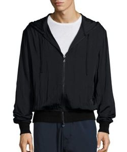 Vince | Regular-Fit Merino Wool-Blend Zip-Front Hoodie