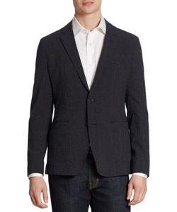 Emporio Armani | Regular-Fit Virgin Wool-Blend Blazer