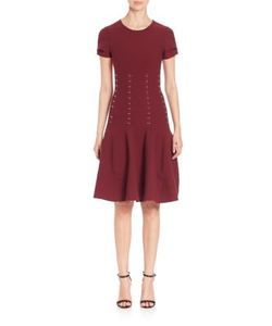 Antonio Berardi | Embellished Knit Fit--Flare Dress