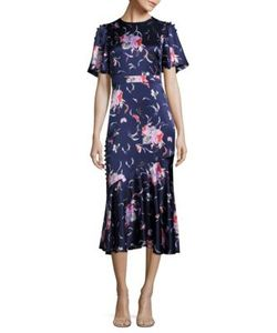 Prabal Gurung | Silk Print Dress