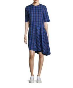 Public School | Rima Abia Plaid Dress
