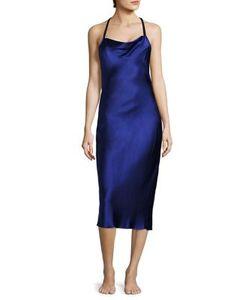 Fleur Du Mal | Bias Silk Slip Dress