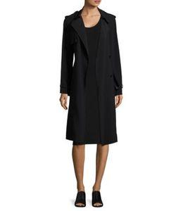 Helmut Lang | Satin Trench Dress
