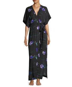 Fleur Du Mal   Printed Silk Robe