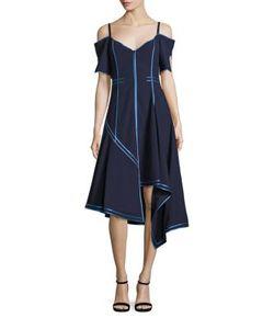 Jason Wu | Off-The-Shoulder Wool Dress