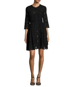 Theory | Kalsingas Cotton Eyelet Shirtdress