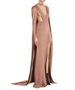 Balmain | All-In-One Cape Gown