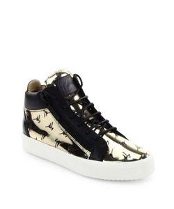 Giuseppe Zanotti | Logo Embossed Leather Sneakers