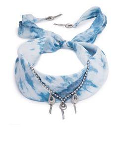 Dannijo | Adira Tie-Dye Silk Bandana