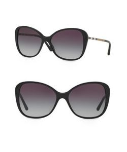 Burberry | Heritage 57mm Butterfly Sunglasses