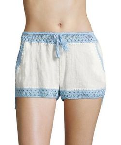 Anna Kosturova   Giza Laced Shorts