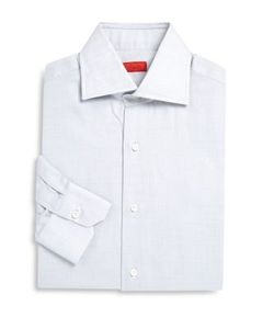 Isaia | Cotton Dress Regular-Fit Dress Shirt
