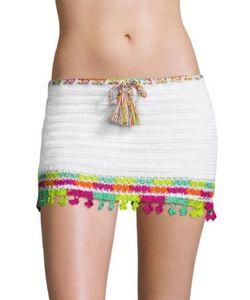 Anna Kosturova | Astral Nomad Cotton Mini Skirt