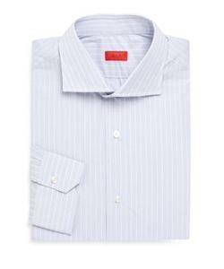 Isaia | Regular-Fit Cotton Dress Shirt