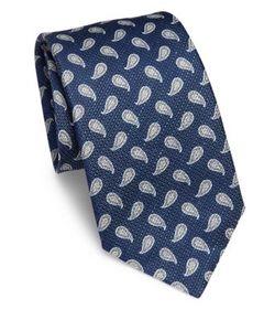 Corneliani | Paisley Silk Tie