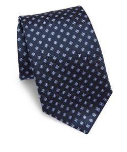 Corneliani | Embroide Silk Tie