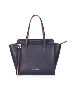 Salvatore Ferragamo | Gancio Shopping Amy Grand Prix Leather Tote