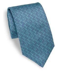 Isaia | Weave Silk Tie