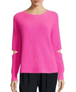 Zoe Jordan | Turing Cutout Wool Cashmere Sweater