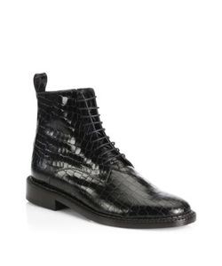 Robert Clergerie | Jacen Leather Combat Boots