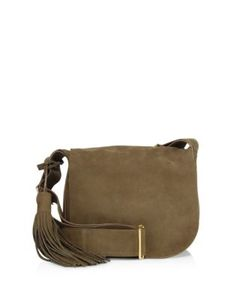 A.L.C. | Henry Leather Saddle Bag
