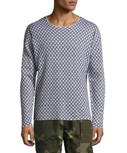 Ovadia & Sons | Checkered Long Sleeve Sweater