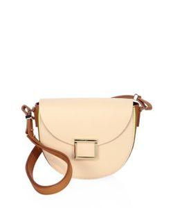 Jason Wu | Jaime Colorblock Leather Saddle Bag