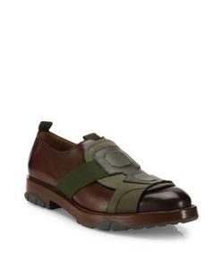 Salvatore Ferragamo | Faber Calfskin Leather Slip-Ons
