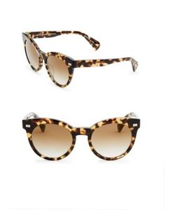 Oliver Peoples | Dore 51mm Gradient Mirrored Cat Eye Sunglasses