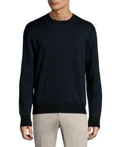 Salvatore Ferragamo   Printed Wool Sweater