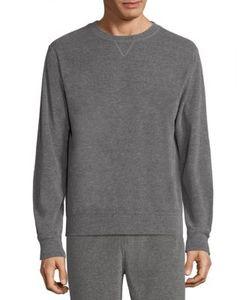 A.P.C. | Long Sleeve Heathered Sweatshirt