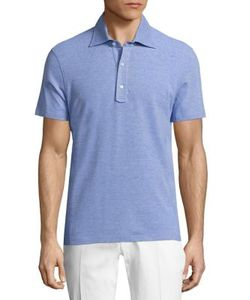 Isaia | Heathe Cotton Polo