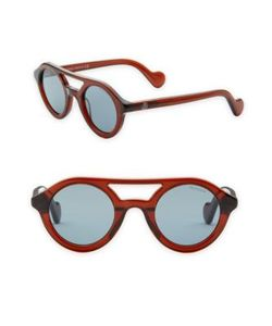 Moncler | 47mm Round Sunglasses